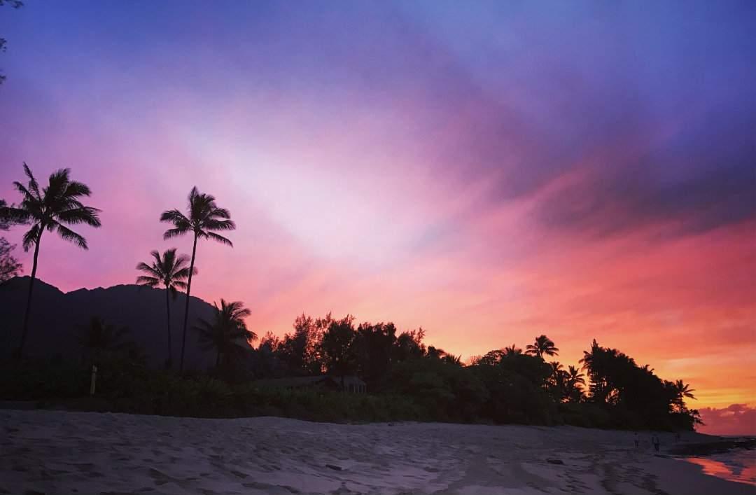 Sunset Haena