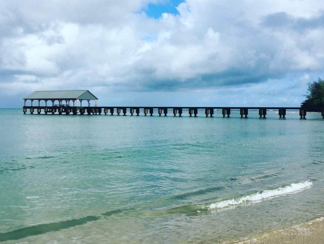 Hanalei Pier in Summer