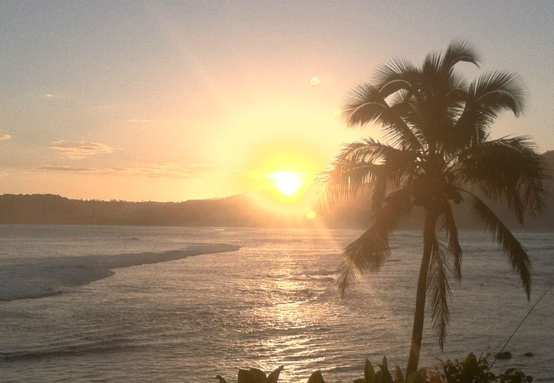Sunrise from Waikoko